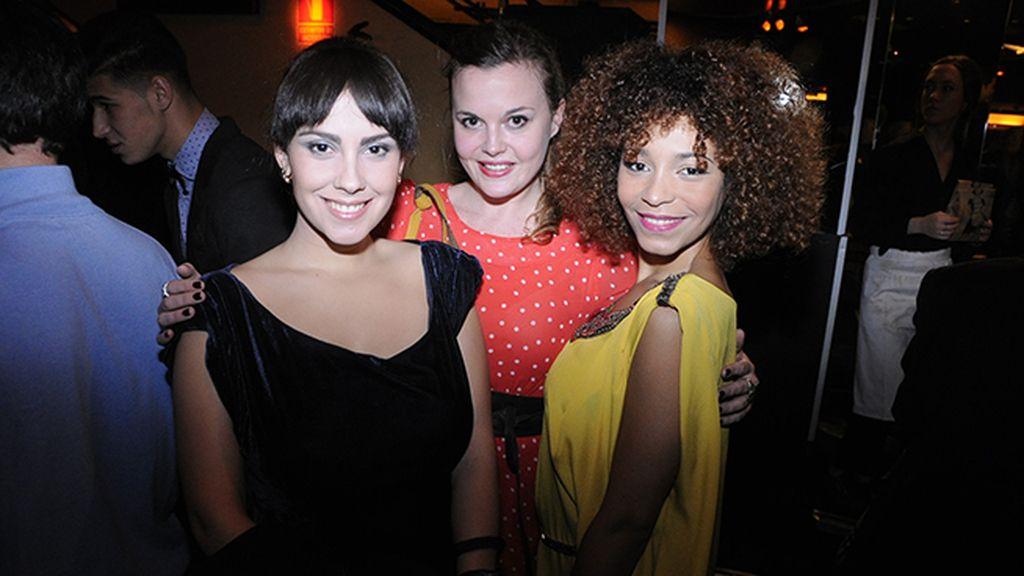 Alba García, Clara Nieto y Montse Pla