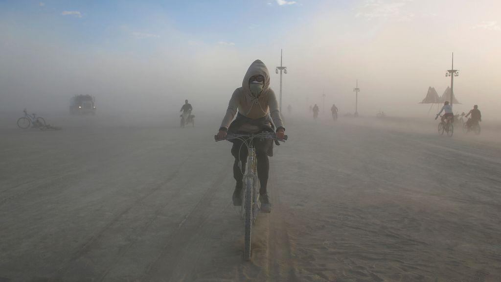Una nube de polvo para disfrutar del arte