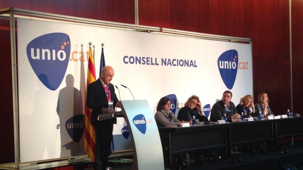 Durán dimite como presidente del comité de gobierno de Unió