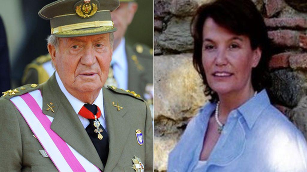 El Rey Juan Carlos e Ingrid Jeanne Sartiau