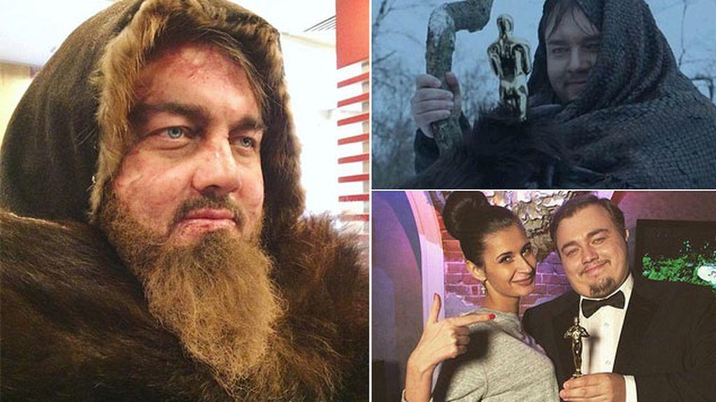 Doble ruso de Leonardo DiCaprio