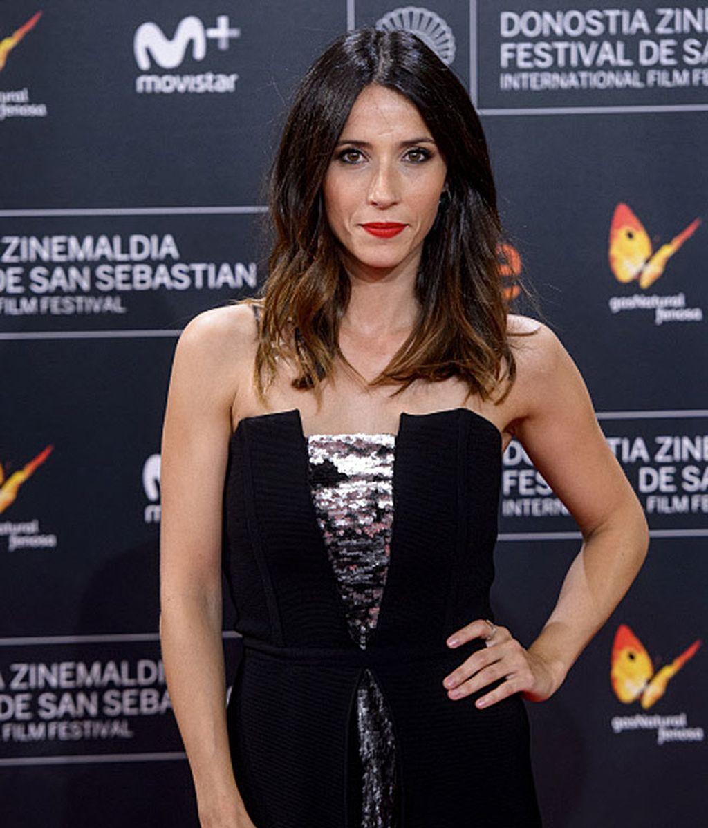 Bárbara Goenaga fue una de las más elegantes de la 'red carpet'
