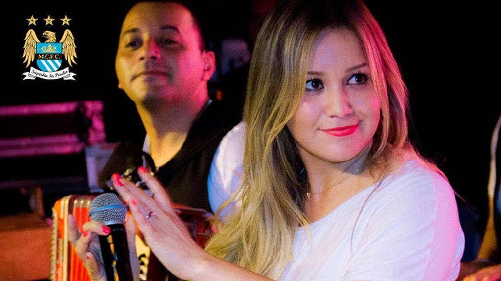 Karina Tejada, la nueva novia de Agüero (City)