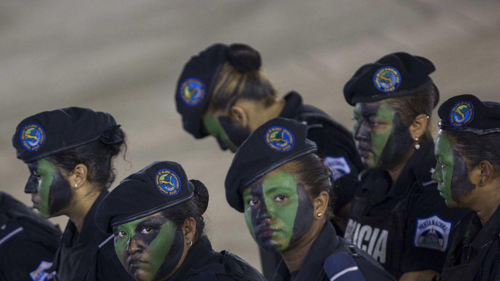 36 aniversario de la policía de Nicaragua
