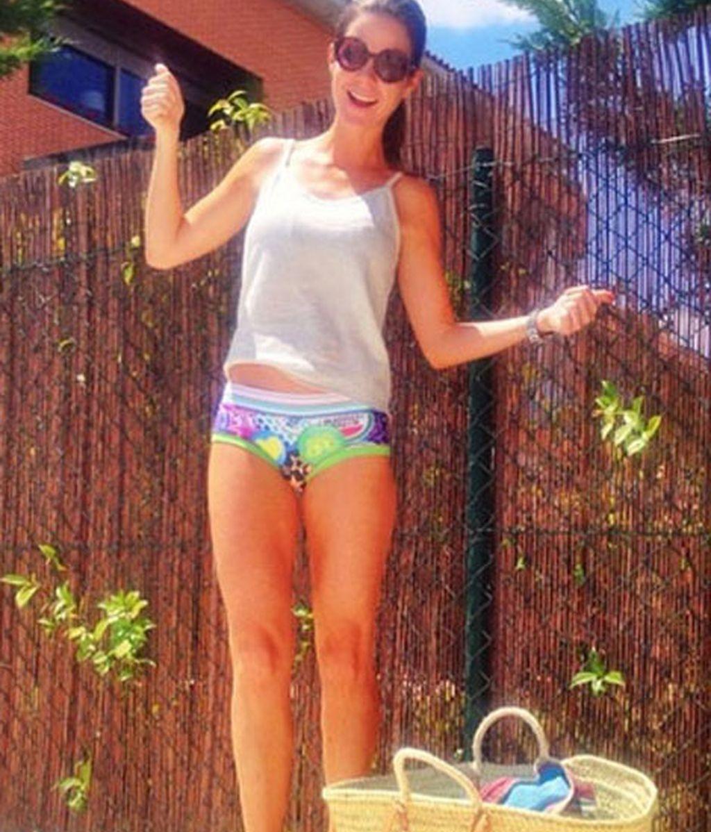 Amelia Bono, con bikini diseñado por Laura Sánchez
