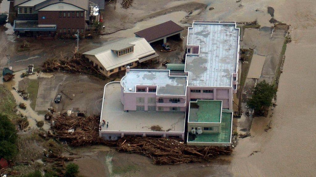 El tifón 'Lionrock' deja en Japón once muertos