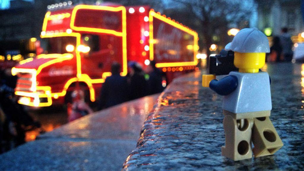 Las 'Legoaventuras' de un fotógrafo