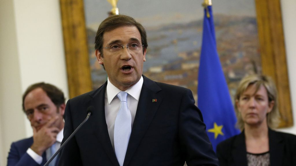 Passos-Coelho anuncia la salida de Portugal del programa de rescate
