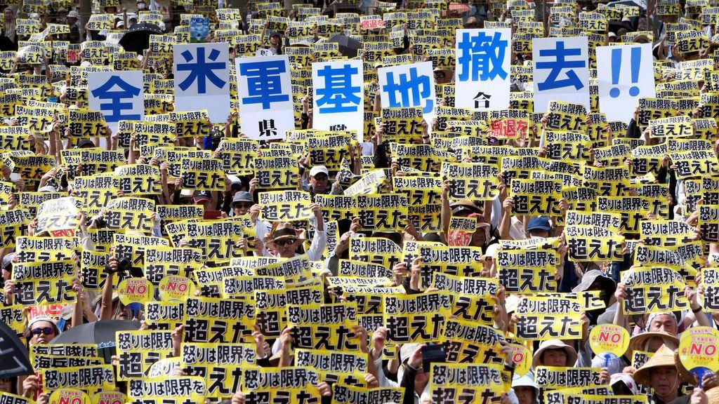 Japón está en contra de la presencia militar de Estados Unidos