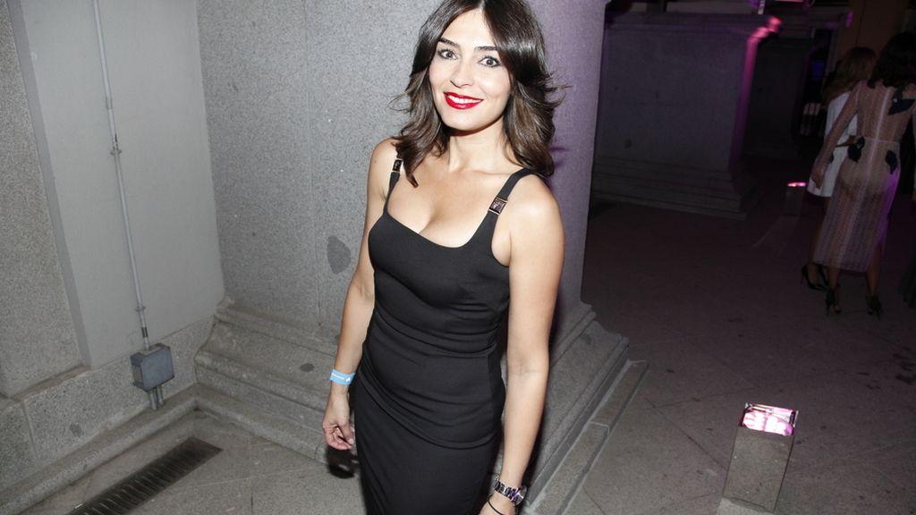 Marta Fernández estaba muy sexy con este vestido de Versace