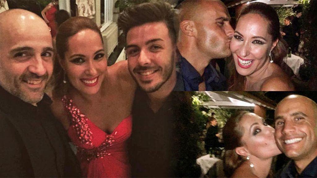 Chayo Mohedano disfrutó de la boda de su prima y no faltó la exaltación de la amistad