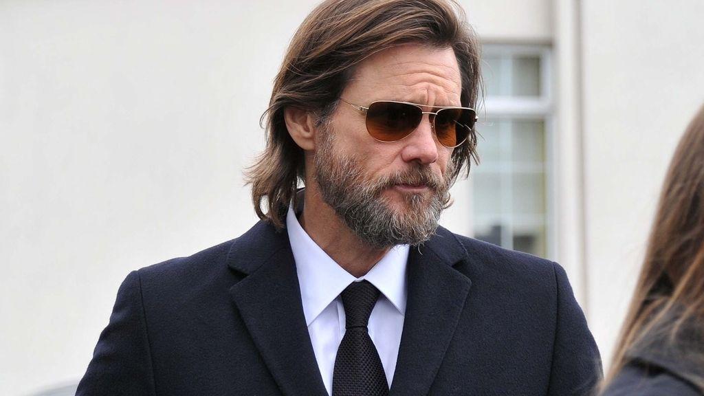 Jim Carrey funeral de su ex novia