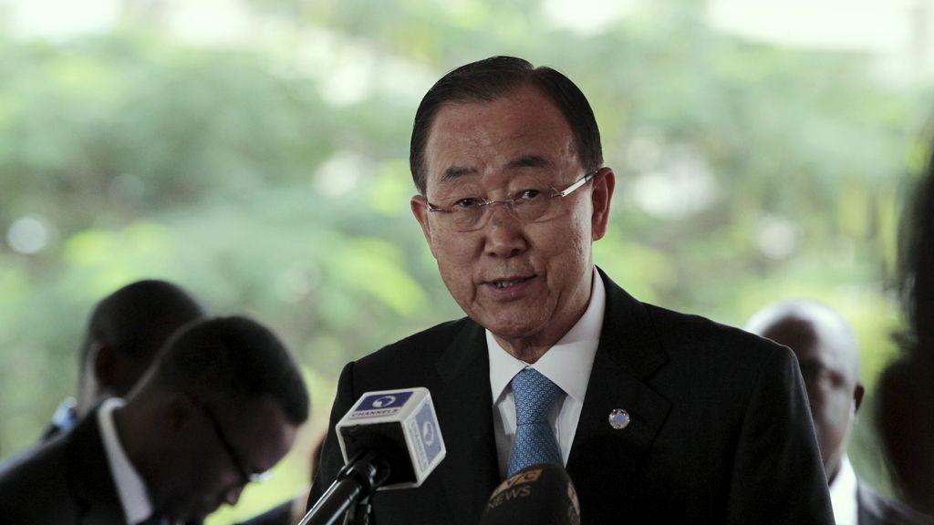 El secretario general de Naciones Unidas, Ban Ki Moon