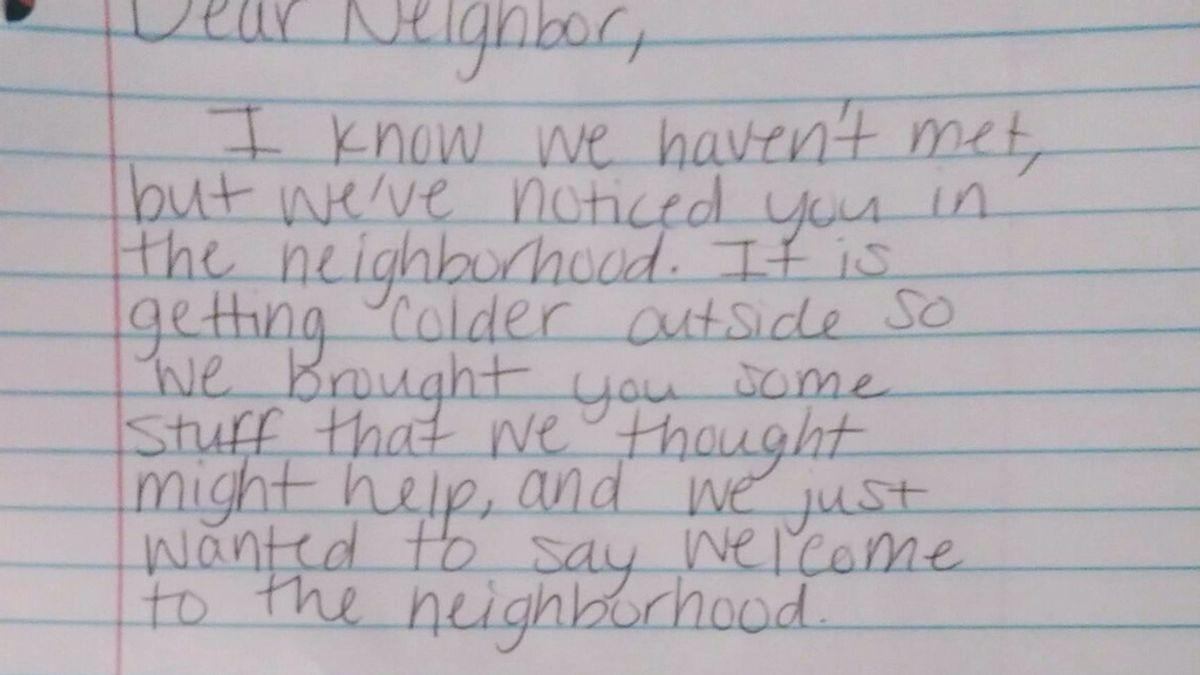 Carta para un mendigo
