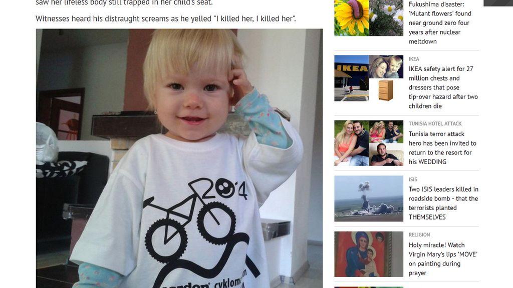 Una niña de dos años muere después de que su padre la olvidara en el coche