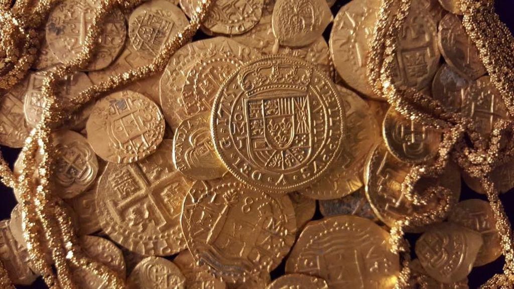 Una familia de EEUU encuentra un tesoro de un millón de dólares en un barco español