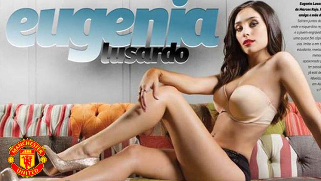 Eugenia Lusardo, pareja de Marcos Rojo (United)