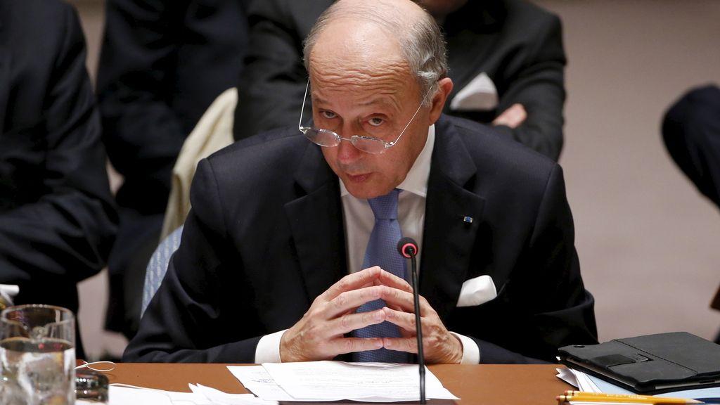 El ministro de Asuntos Exteriores francés, Laurent Fabius