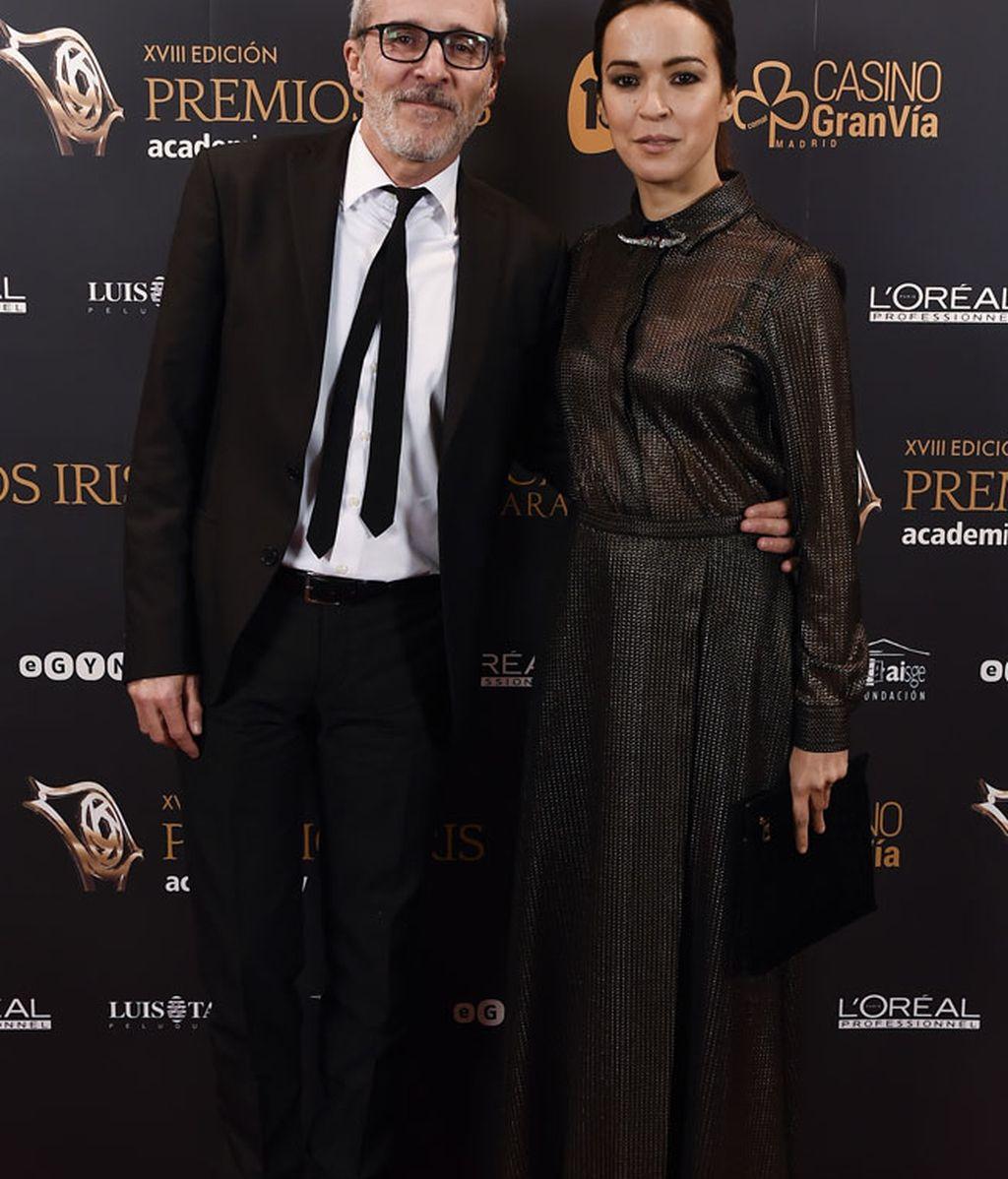 Fernando Guillén y Verónica Sánchez: 100% combinados a dúo de negro