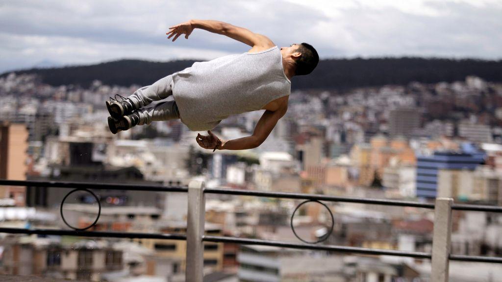 Parkour, el arte de escalar cualquier obstáculo