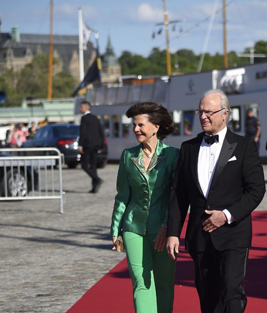 Los reyes de Suecia: Carlos Gustavo y Silvia, anfitriones del evento