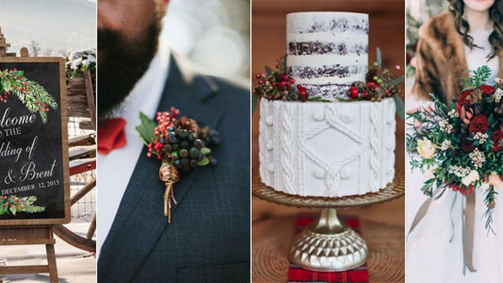 Ho, ho, ho… ¡feliz sí quiero! 🎅 11 imágenes que harán que quieras casarte en Navidad