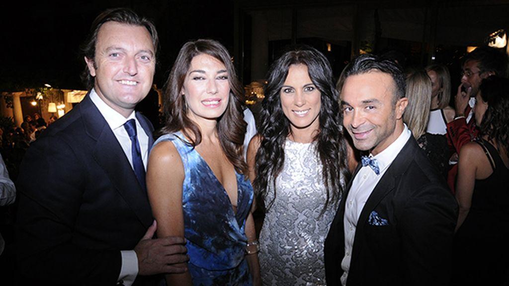 """Raúl García """"El Tato"""", Raquel Revuelta, Alicia Senovilla y Luis Rollán, reencuentros en la noche madrileña"""