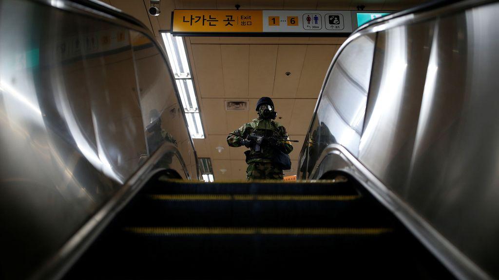 Antiterrorismo en Corea del Sur