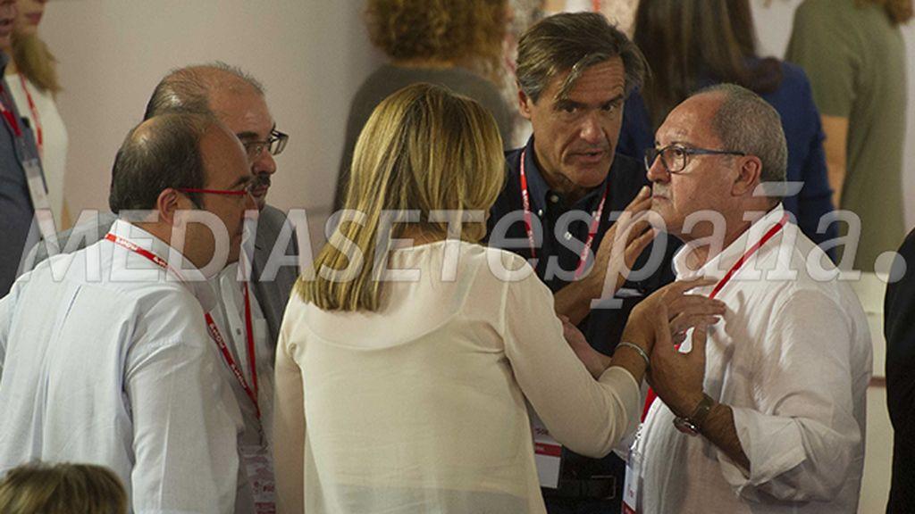 Los líderes andaluces con Iceta
