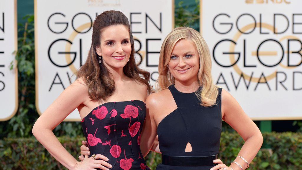 Amy Poehler y Tina Fey en los Globos de Oro 2014