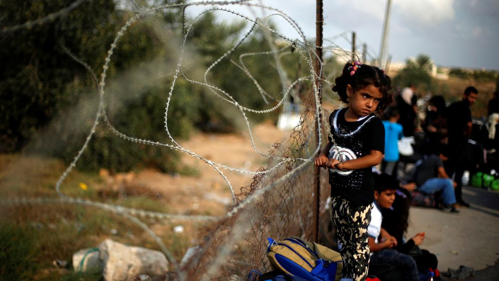 La frontera de Palestina