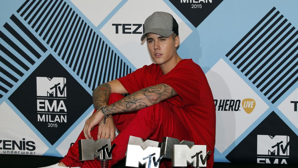 Justin Bieber arrasa en los MTV EMA y se lleva cinco galardones
