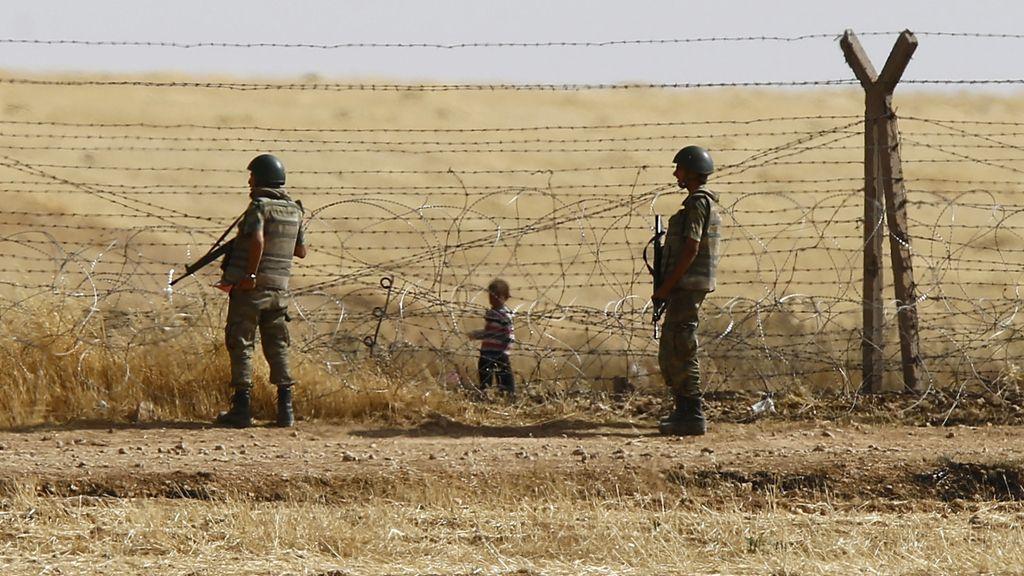 La frontera entre Siria y Turquía