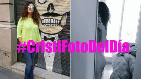 Cristina Se Desnuda Para Dar Gracias A Sus Cristiadict At S Con Hashtag