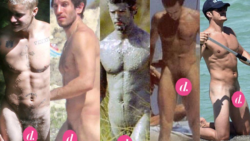 Famosos nudistas en las playas del mundo: pillados con el 'paparazzi' al aire