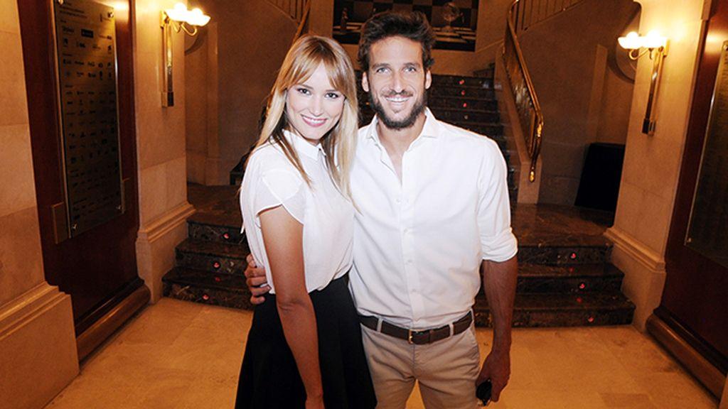Alba Carrillo y Feliciano López, que en pocas semanas se irán a vivir juntos a su nueva y espectacular casa