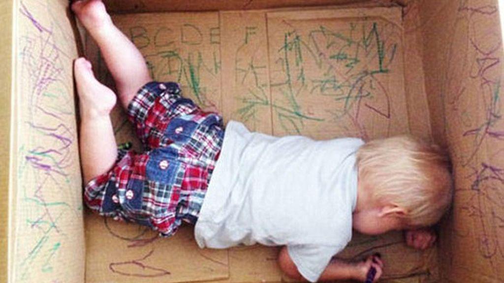 Así consiguen algunos padres que sus hijos no sufran pequeños accidentes