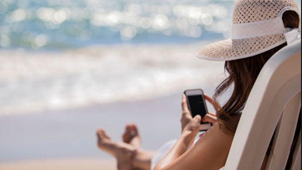 adicción movil, vacaciones con móvil, dependencia móvil