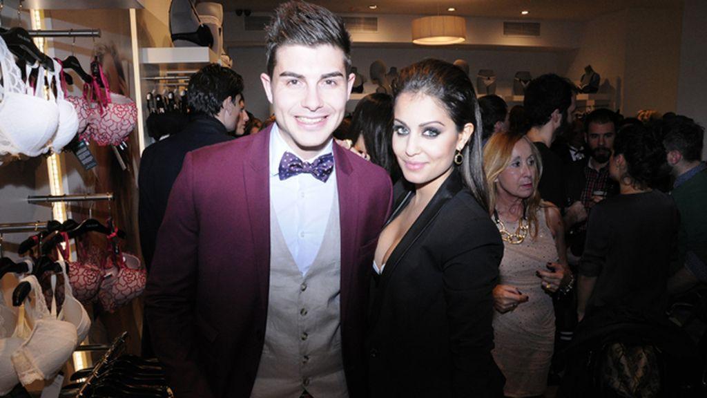 """Fran Guzmán junto a Hiba Abouk, que nos confesó estar aún sorprendida con el éxito de """"El Príncipe"""""""