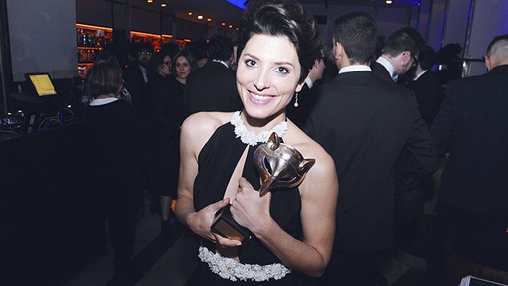 """Bárbara Lennie, flamante ganadora del premio a la mejor actriz por su papel en """"Magical Girl"""""""