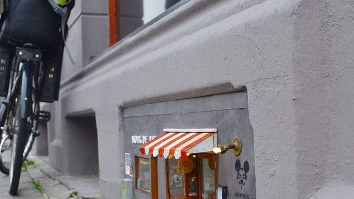 Crean unos misteriosos y diminutos restaurantes para ratones en Suecia