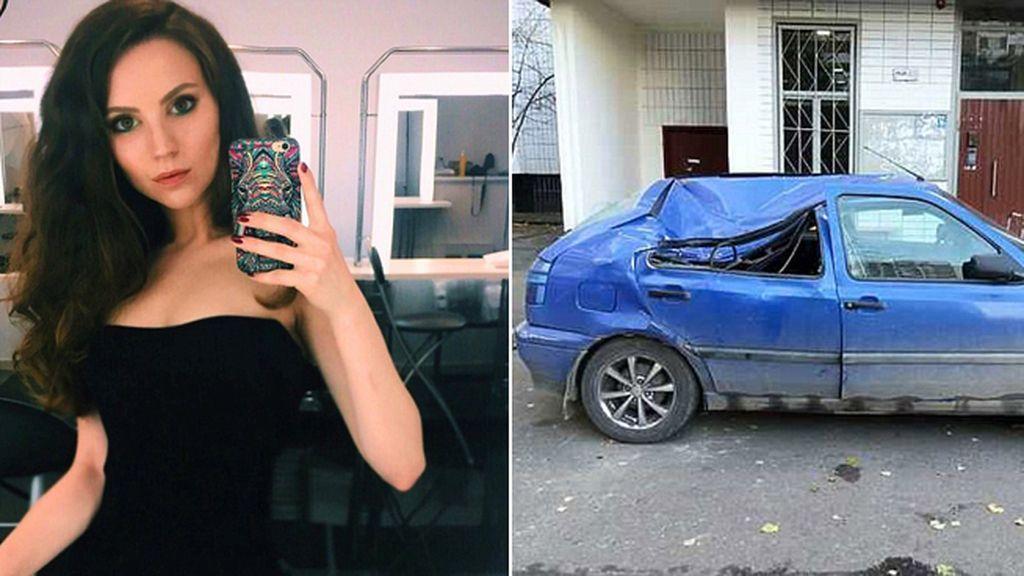 Sobrevive tras caer desde un piso 17 al aterrizar sobre un coche