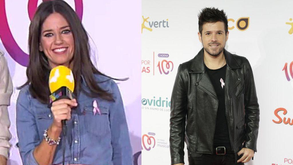 Nuria Marín y Pablo López