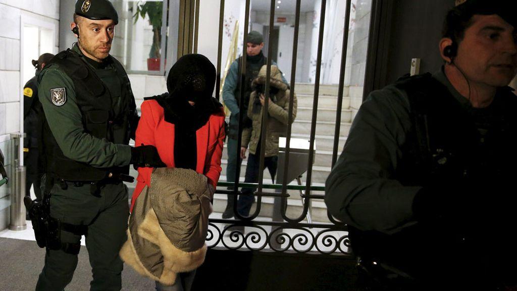 Dos de los detenidos en la operación contra el banco chino ICBC