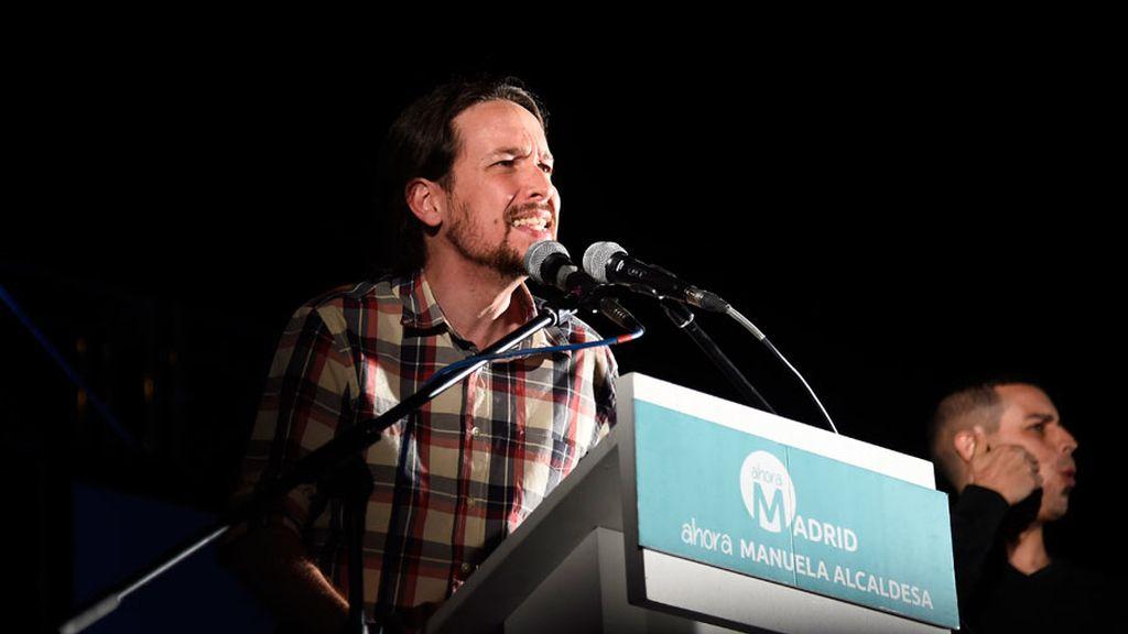 """Iglesias celebra que Podemos ha sido la """"palanca del cambio"""""""