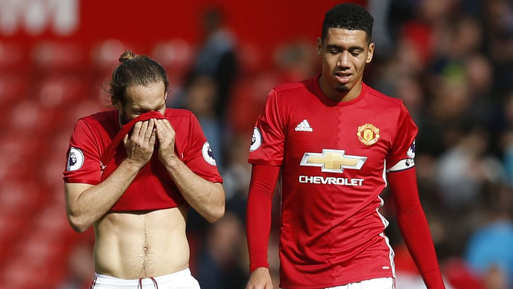 El Manchester United no pasa del empate en el Old Trafford (05/10/2016)