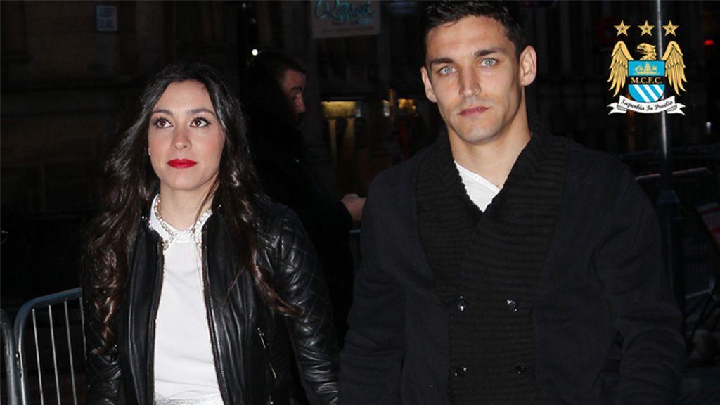 Alejandra Moral, la esposa de Jesús Navas (City)