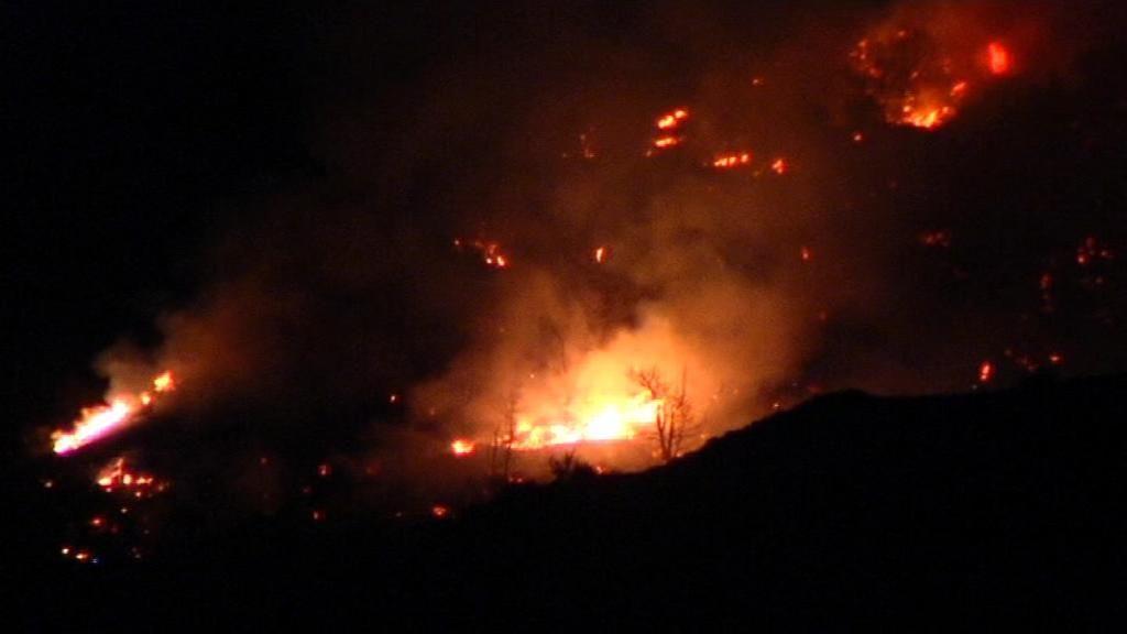Estabilizado el segundo incendio forestal declarado en Lanjarón