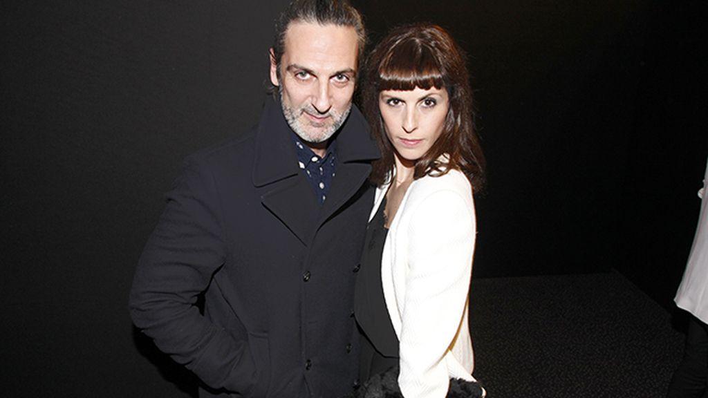 Ernesto Alterio y Bárbara Santa-Cruz