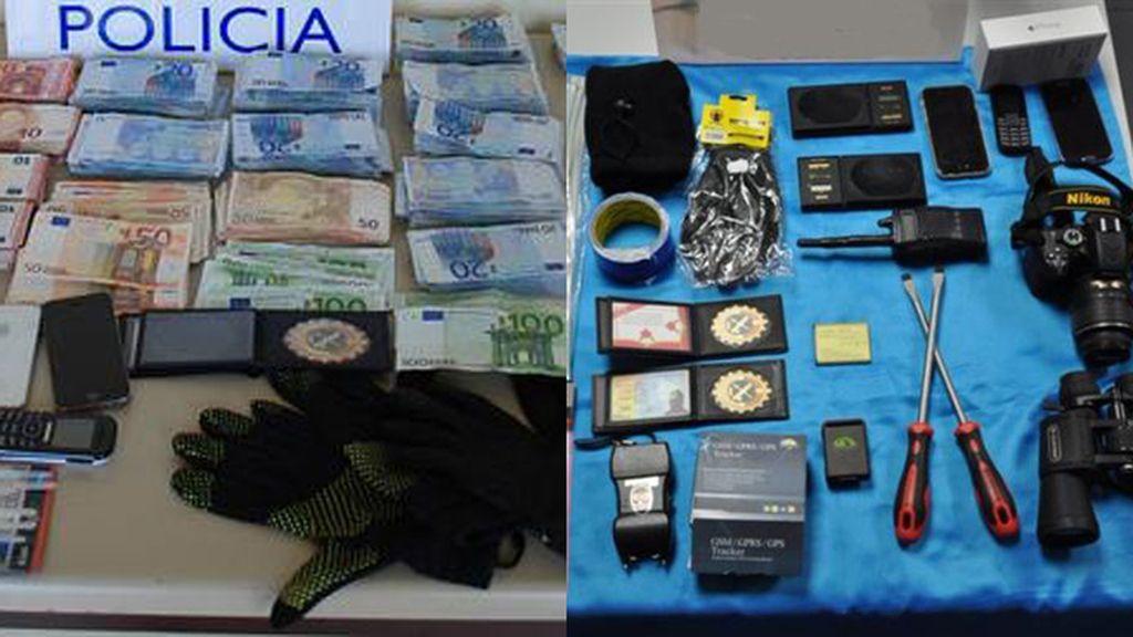 Detenidos seis guardias civiles falsos dedicados al robo a narcotraficantes